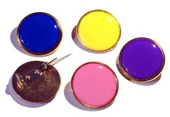 School Blank Colour Badges